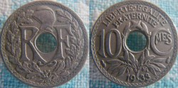 10 Centimes 1933