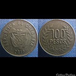 100 pesos 2010
