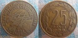25 Francs 1962