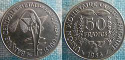 50 Francs 1984