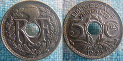 5 Centimes 1923