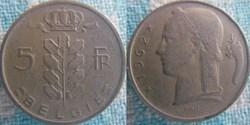 5 Francs 1962 fl
