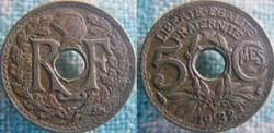 5 Centimes 1932