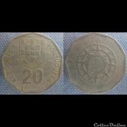 20 Escudos 1986