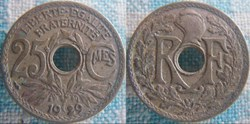 25 Centimes 1929