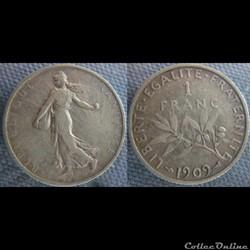 1 Franc 1909