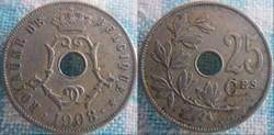 25 Centimes 1908 fr