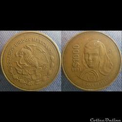 1000 Pesos 1991