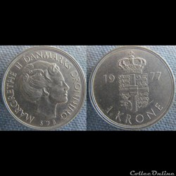 1 Krone 1977