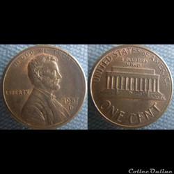 1 Cent 1987 D