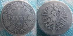 1 mark 1874 E