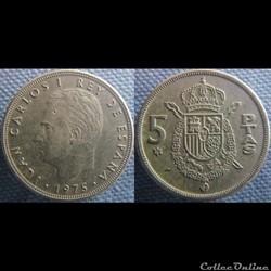 5 pesetas 1975 (78)
