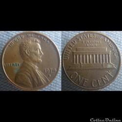 1 Cent 1974 D
