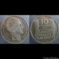 10 Francs 1932