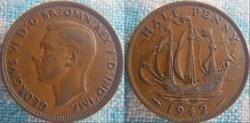 1/2 Penny 1942