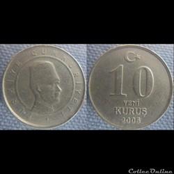 10 nouveaux Kurus 2006