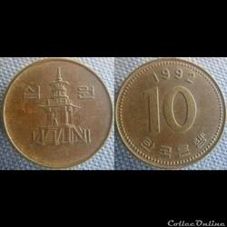 10 Won 1992