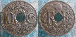 10 Centimes 1919