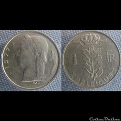 1 Franc 1977 fr