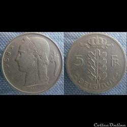 5 Francs 1958 fr