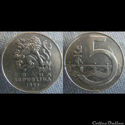 5 Korun 1993