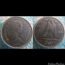 10 Cents 1980