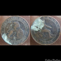 10 centimos 1870