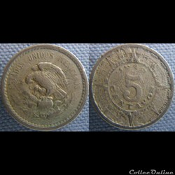 5 Centavos 1940