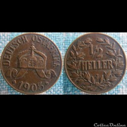 1/2 Heller 1905 J