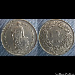 1 Franc 1968