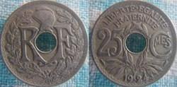 25 Centimes 1924