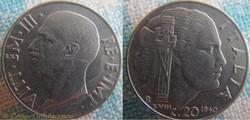 20 Centesimi 1940