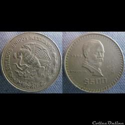 500 Pesos 1988