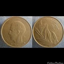 20 Francs 1993 fl