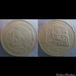 5000 Pesos 1988
