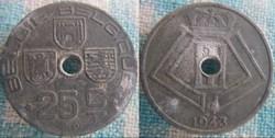 25 Centimes 1943 fl