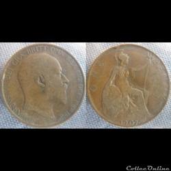 1 Penny 1907