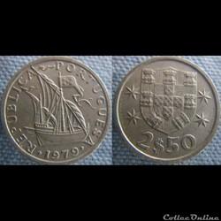 2,50 Escudos 1979