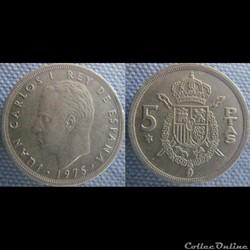 5 pesetas 1975 (76)