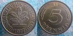 5 Pfennig 1977 F