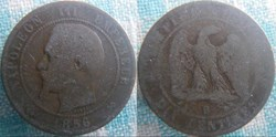 10 Centimes 1856 B