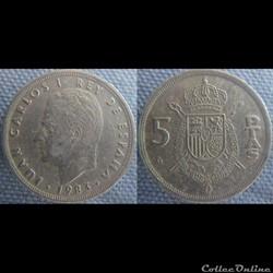 5 pesetas 1983