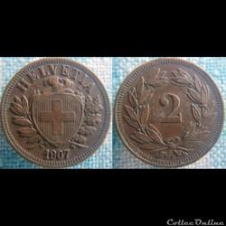 2 Rappen 1907