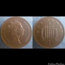 1 Penny 1992
