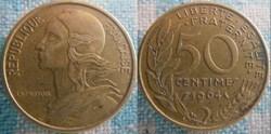 50 Centimes 1964