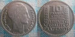 10 Francs 1947 Grosse tête