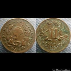 2 Centavos 1949