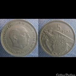5 pesetas 1957 (61)