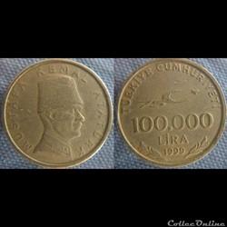 100 000 livre 1999