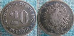 20 Pfennig 1875 G
